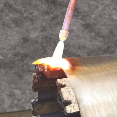 Восствновление алмазной коронки